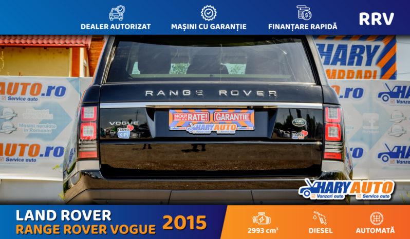 Land Rover – Range Rover Vogue 3.0 Diesel / 2015 full
