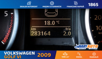 Volkswagen Golf VI 1.6 / 2009 full