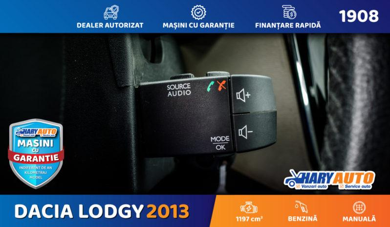 Dacia Lodgy 1.2 Benzina / 2013 full
