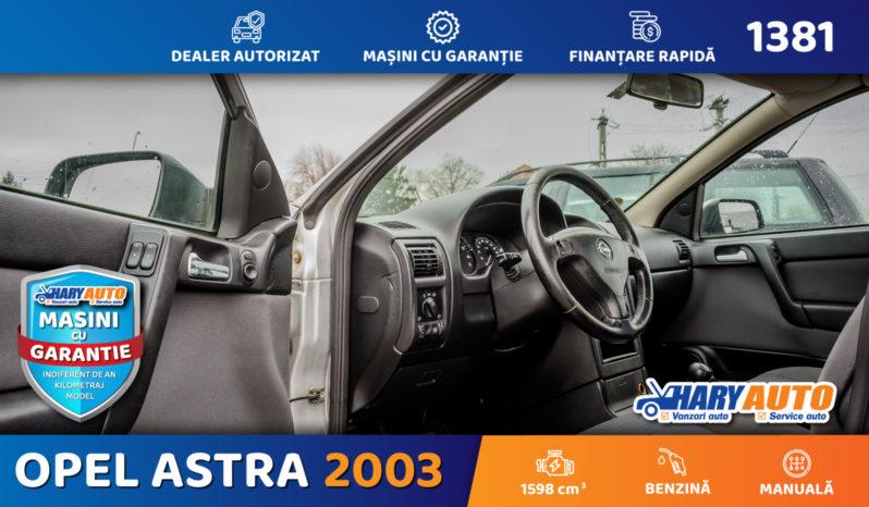 Opel Astra G 1.6 Benzina / 2003 full