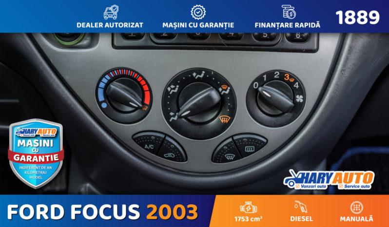 Ford Focus 1.8 TDCI Diesel / 2003 full