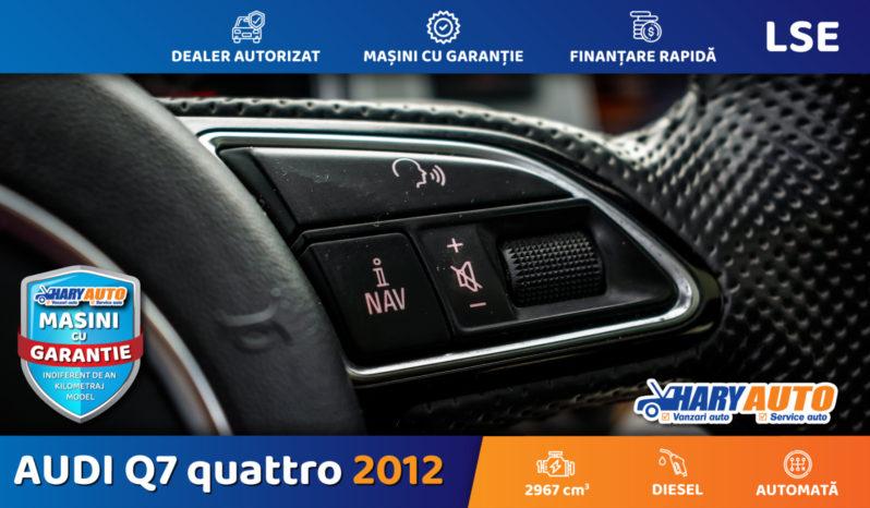 Audi Q7 quattro S Line 3.0 TDI / 2012 full