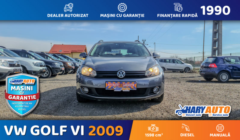 Volkswagen Golf VI 1.6 TDI  / 2009 full