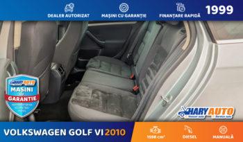 Volkswagen Golf VI 1.6 Diesel / 2010 full