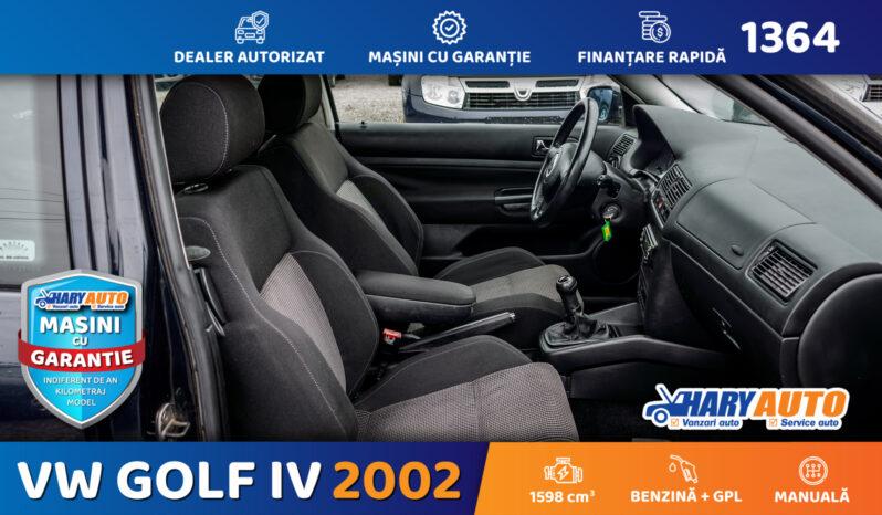 Volkswagen Golf 1.6 Benzina + GPL / 2002 full