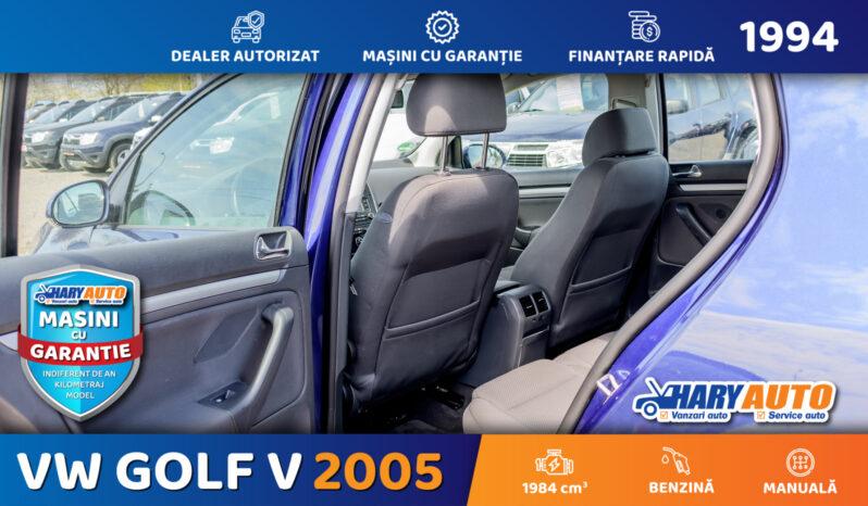 Volkswagen Golf V 2.0 Benzina / 2005 full