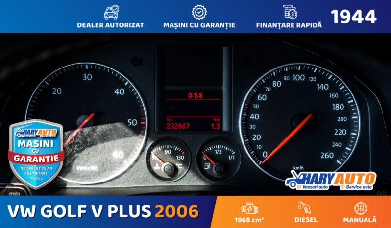 Volkswagen Golf V Plus 2.0 Diesel / 2006 full