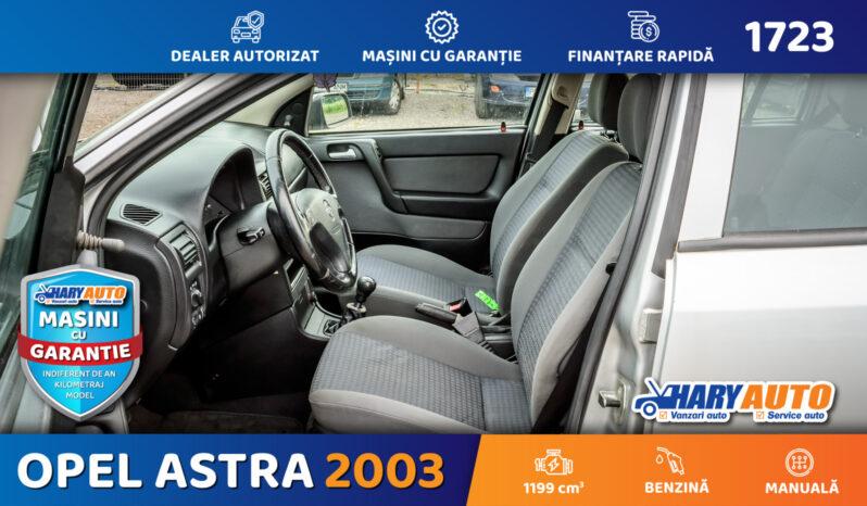 Opel Astra G 1.2 Benzina / 2003 full