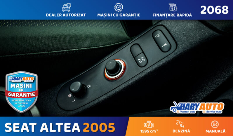 Seat Altea 1.6 Benzina / 2005 full